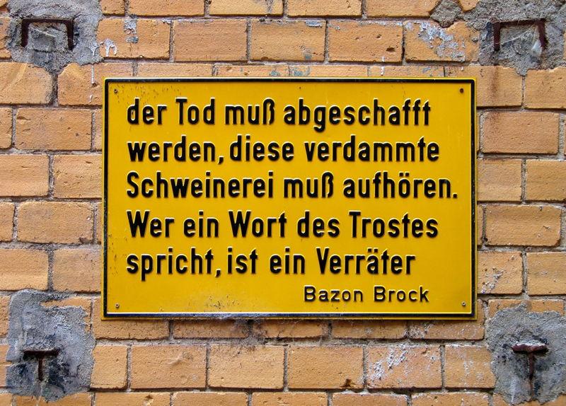 Bazon Brock Tod
